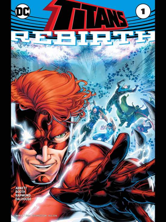Image result for titans rebirth #1